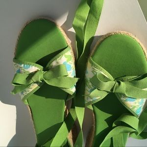 Lilly Pulitzer Shoes - Lilly Pulitzer Tulip Wedge Espadrilles NWOT